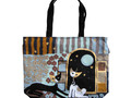 "Shopper sac Rosina Wachtmeister ""Flowers and Stripes"""
