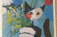 "Rosina Wachtmeister carte double ""For you"""