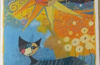 "Rosina Wachtmeister carte double ""Dolce vita"""
