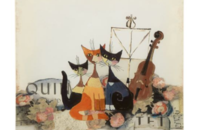 Rosina Wachtmeister tableau à aimants Musica Romantica