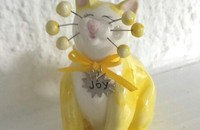 WhimsiClay chat Joy joie