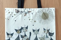 "Rosina Wachtmeister chats sac de comission ""Cats sepia"""