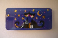 "Boîte à crayons Rosina Wachtmeister ""Moonligth Serenade"""
